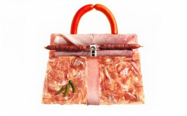 """Fashion: Почти съедобные сумки Hermes:  """"вкусный """" креатив от знаменитого..."""