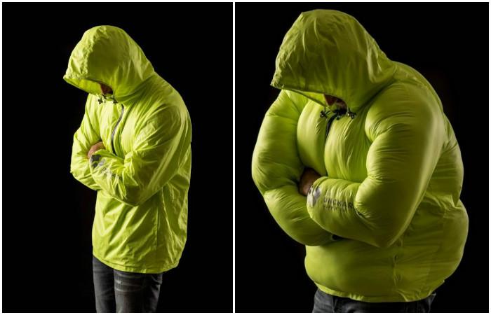 Hideaway  – самая компактная и тёплая туристическая куртка-трансформер