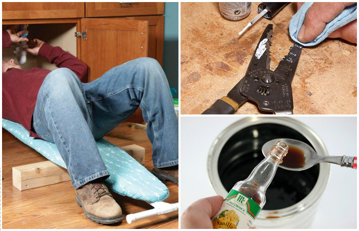 10 лайфхаков для ремонта или генеральной уборки