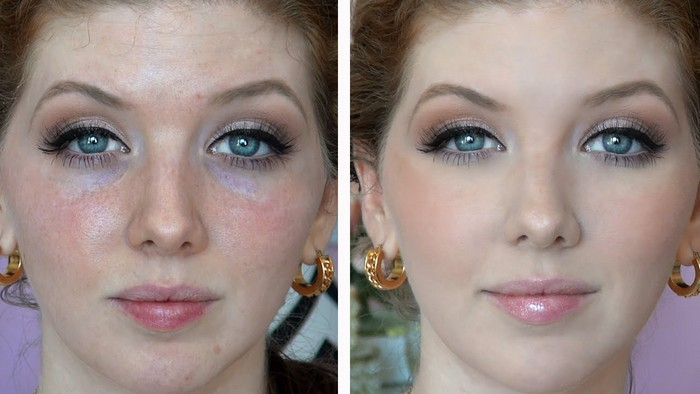 Делаем идеальную кожу с помощью цветных корректоров