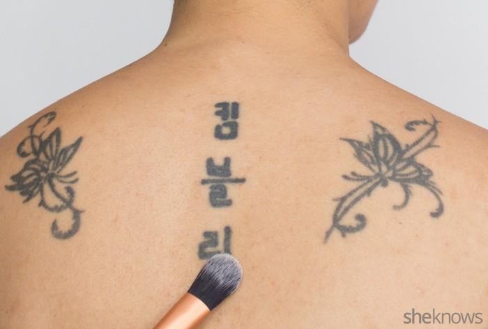 Маскируем татуировки просто и быстро