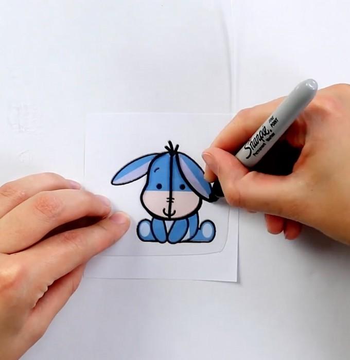 Рисунки, смешные рисунки фломастером