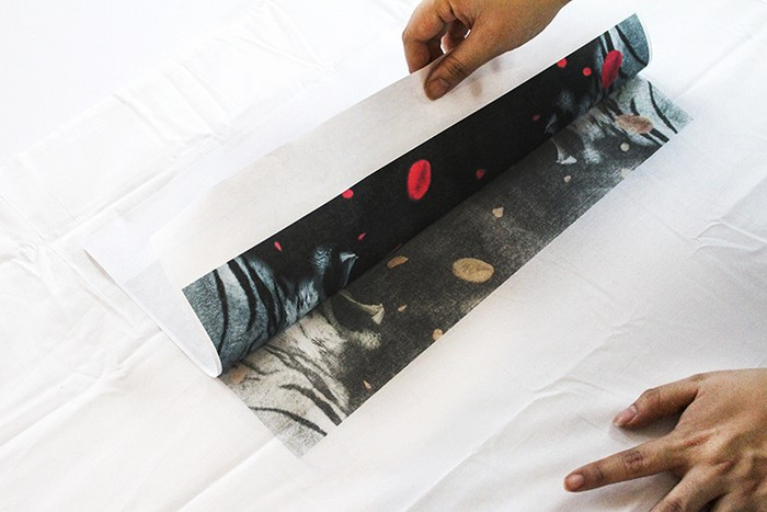 Как перенести рисунок на ткань