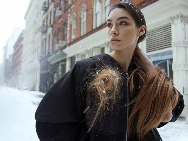 «Зелёные» украшения из человеческих волос от Виктории Барлет