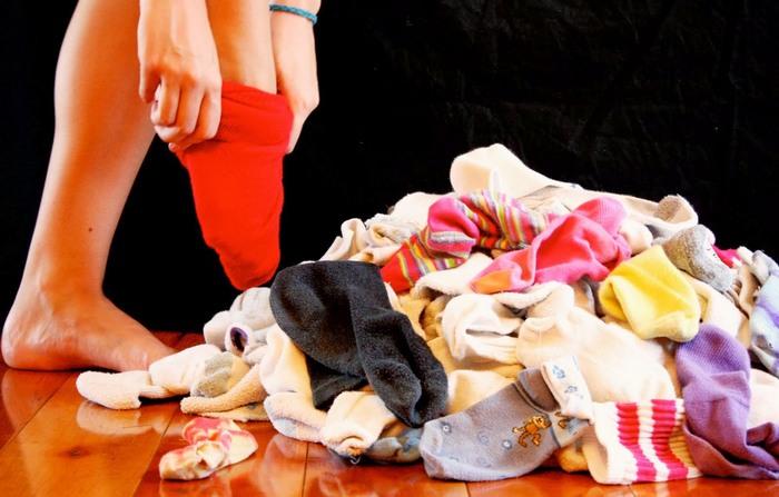 Когда надоело каждое утро искать подходящие носки.