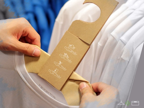 Уникальный эко-проект «сумка + вешалка» от корейских дизайнеров