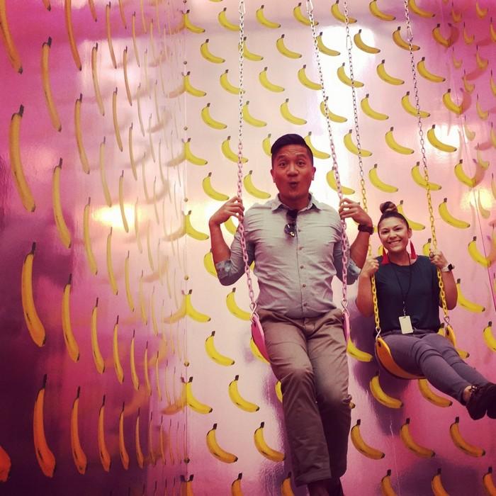 Ну очень аппетитный и привлекательный музей мороженого в Лос-Анджелесе