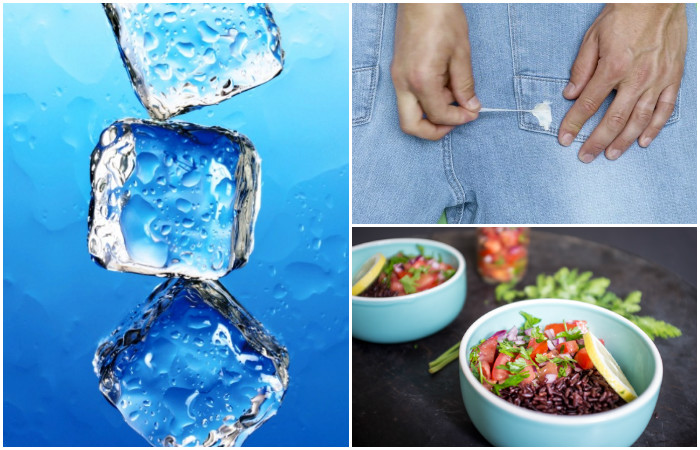 15 больших и маленьких проблем, с которыми легко справится кубик льда