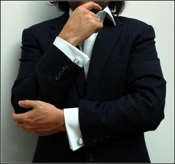 Мужские запонки для техноманов iCufflinks