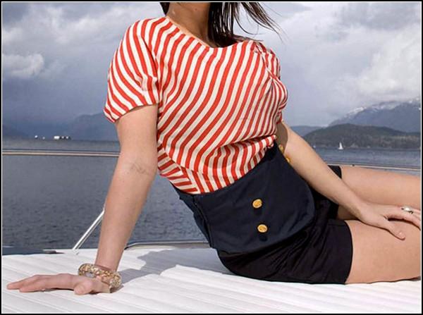 Bandeau Belt: гламурный спасательный жилет и гламурный спасательный пояс в стиле «ретро»