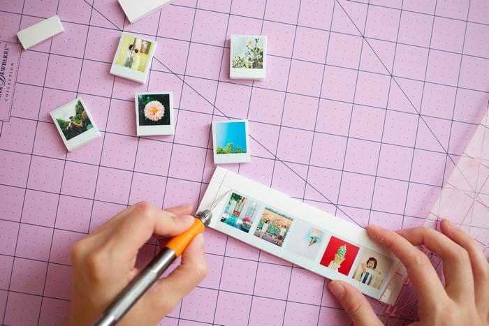 Как сделать фотомагнит своими руками 163