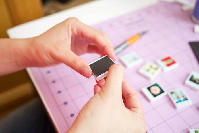 Как сделать прикольные инстаграм-магниты своими руками