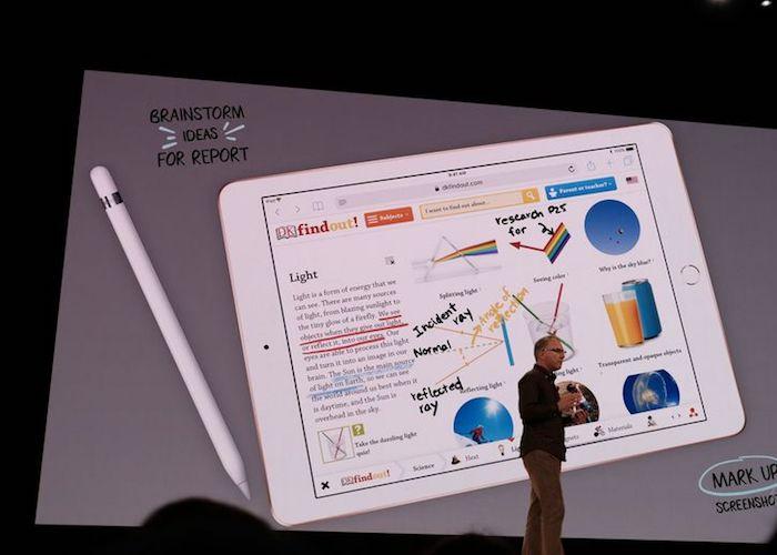 Презентация «студенческого»  iPad состоялась в Чикаго.