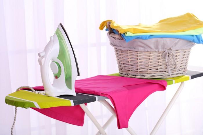 Как гладить пресловутый «fabric blend»?
