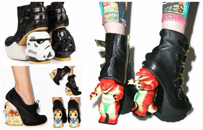 10 самых сумасшедших пар дизайнерской обуви от Irregular Choice