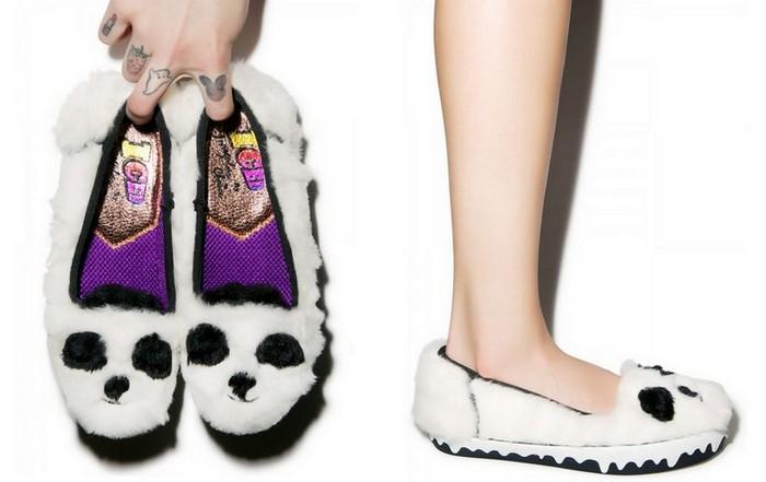 10 самых сумасшедших пар дизайнерской обуви от Irregular Choice: пушистые Cuddles Slip-On Sneaker