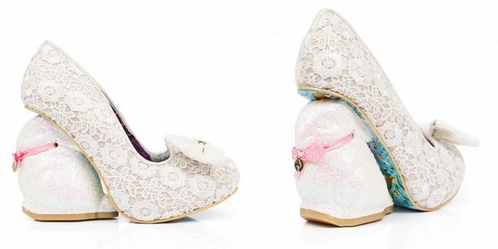 10 самых сумасшедших пар дизайнерской обуви от Irregular Choice: Bunnykins, пасхальная коллекция