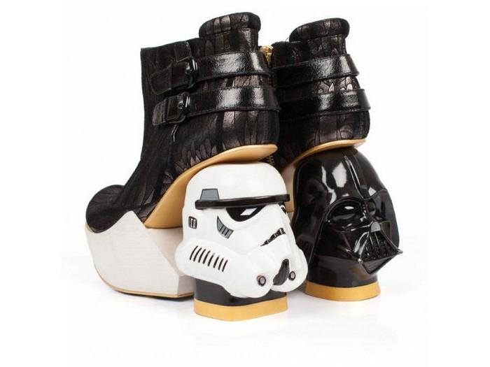 10 самых сумасшедших пар дизайнерской обуви от Irregular Choice:Death Star для тех, кто подумывает перейти на Тёмную сторону