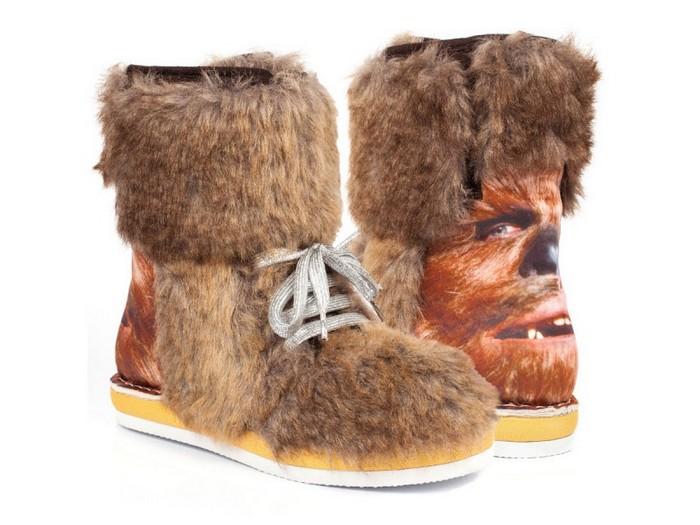 10 самых сумасшедших пар дизайнерской обуви от Irregular Choice: Chewbacca не даст замёрзнуть даже на нашей холодной планете