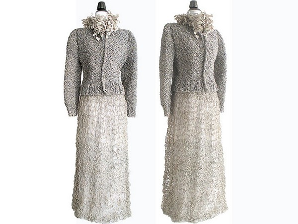 «Мусорная мода» от итальянца Ивано Витали (Ivano Vitali)