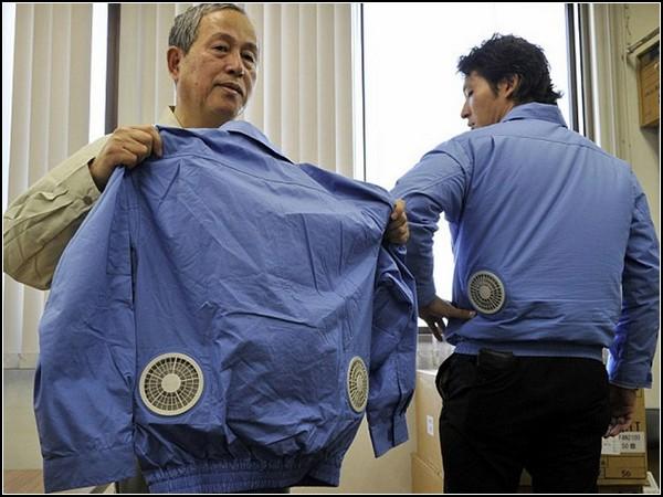 Одежда с мини-вентиляторами для самой жаркой погоды