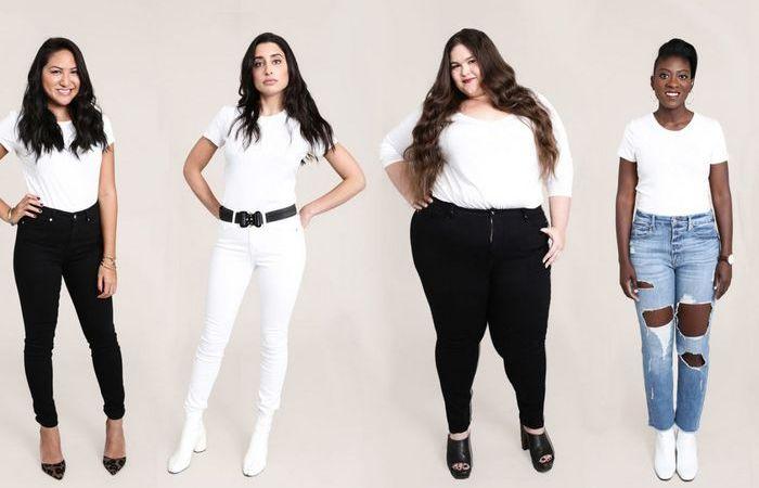 Для каждой фигуры можно подобрать идеальные джинсы.