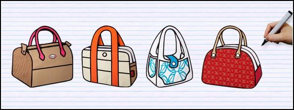 """""""Как с картинки """": необычайно плоские и яркие сумки Jump From Paper."""