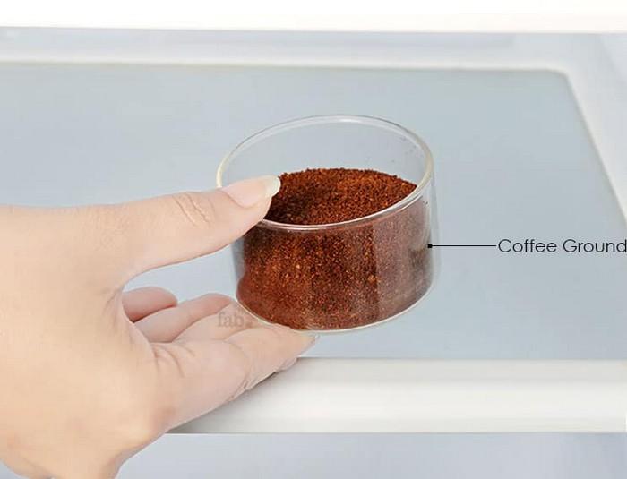 Кофе освежит холодильник.
