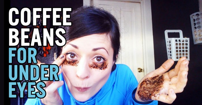 Кофе против тёмных кругов под глазами.