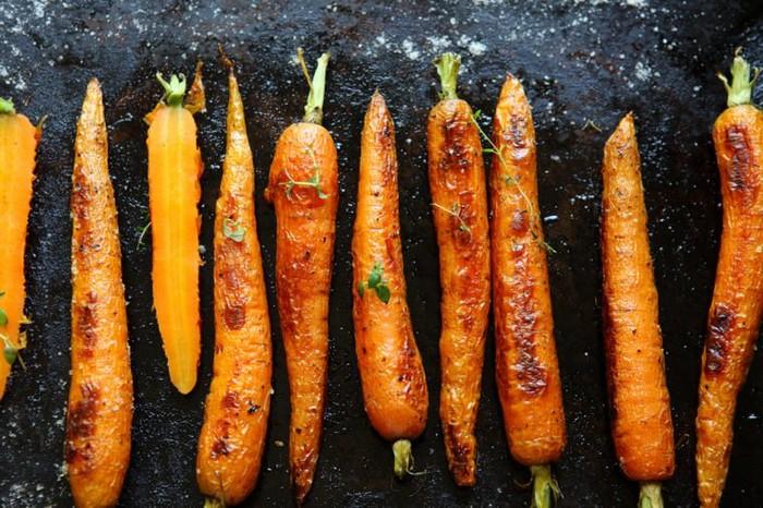 Овощи могут быть сливочными.