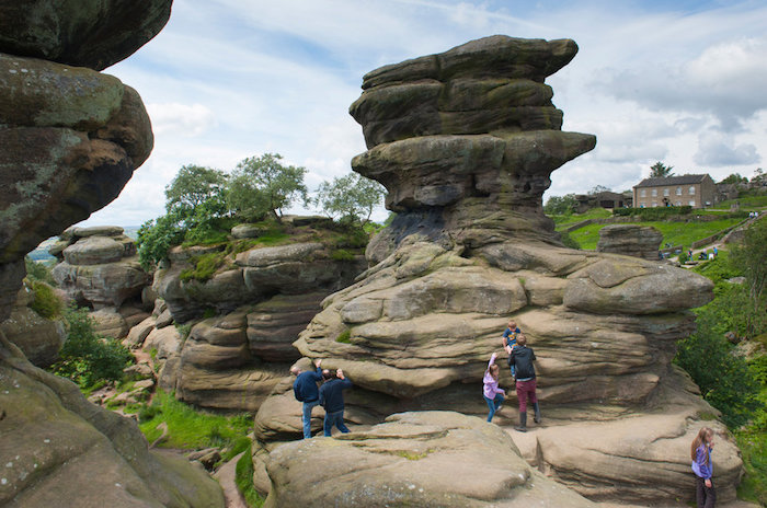 Brimham Rocks – камни, старше Стоунхенджа.