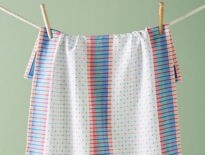 Стирка кухонного полотенца раз в неделю обязательна.
