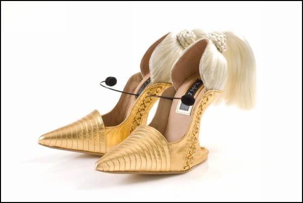 Необычные туфли Blond Ambition от Kobi Levi