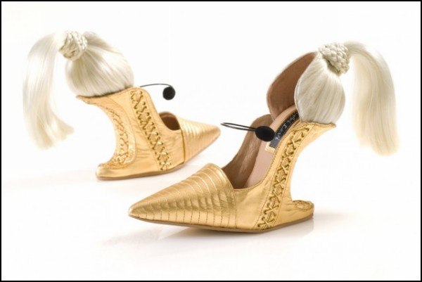 Необычные туфли-скульптуры: новая коллекция от Kobi Levi