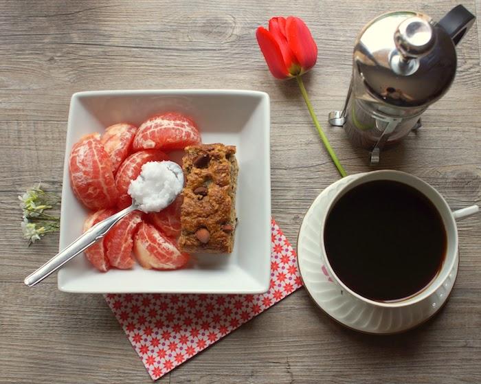 Кофе с грейпфрутом – бодрящее сочетание.