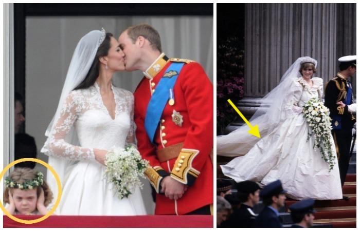 Забавные казусы на королевских свадьбах.