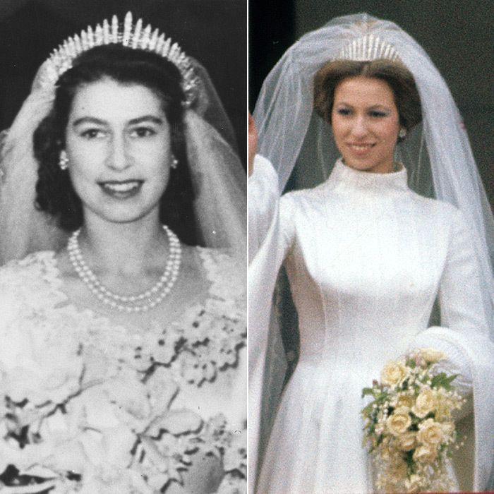 В этой же тиаре выходила замуж дочь Елизаветы, Анна.