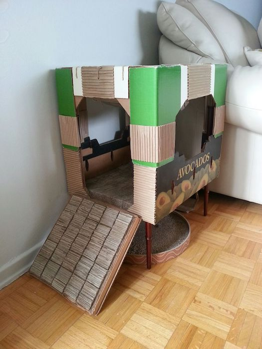 Поставьте когтеточку поближе к «проблемной» мебели.