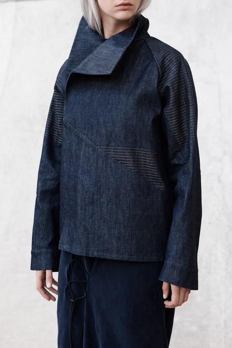 Куртка актуального кроя «кокон».