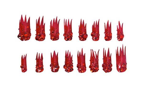 Дизайнерские  типсы для ногтей от Gaga's Workshop