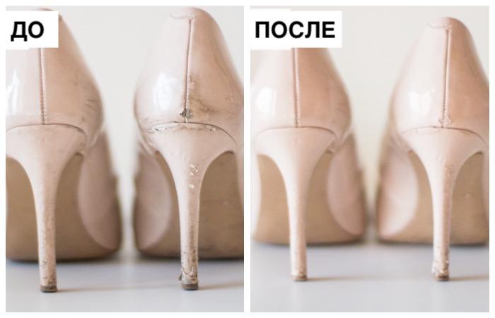 Как привести в порядок даже «видавшие виды» лаковые туфли.