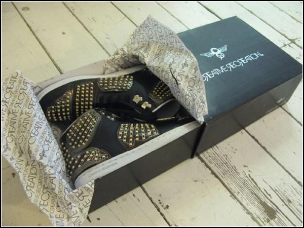 Дизайнерские кроссовки для танцев