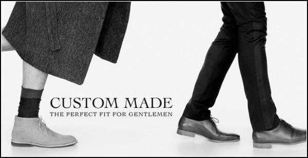 Пару обуви индивидуального пошива доставят втечении нескольких недель