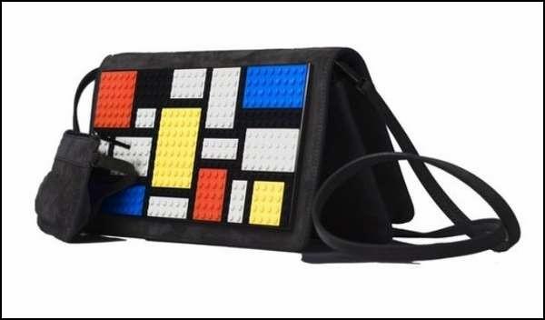Недетские сумочки из детского конструктора Lego: модель Mondrian