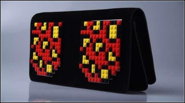 Вариации на тему детского конструктора Lego в стиле Поп-арт