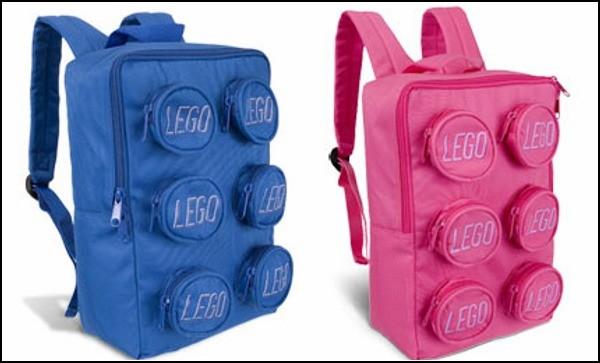 Обзор самых необычных рюкзаков: рюкзак-кубик Lego