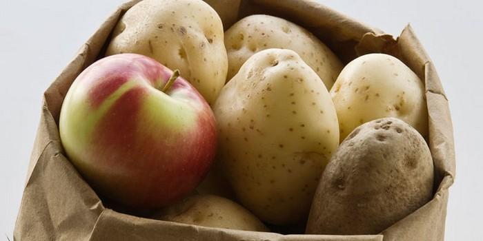 «Молодильные ябочки» для картошки.