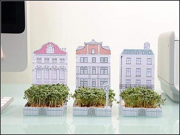 Маленький зелёный дворик от Another Studio