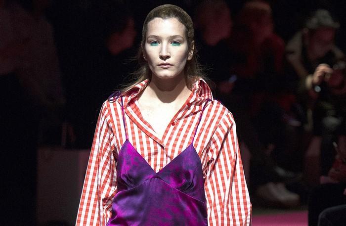 6 главных бьюти-трендов Недели моды в Лондоне: Marques Almeida
