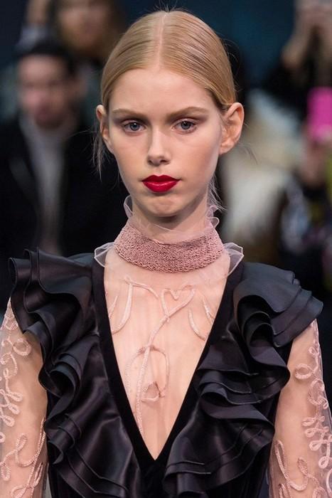 6 главных бьюти-трендов Недели моды в Лондоне: Roksanda